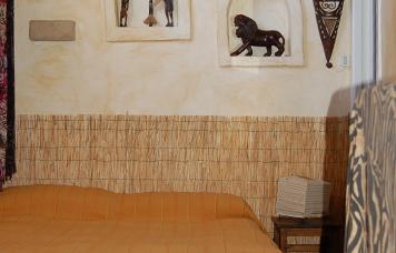 B&B fregene La Scialuppa cucina camera African