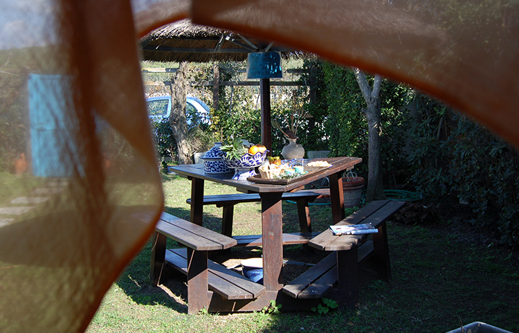 Bed and Breakfast La Scialuppa giardino