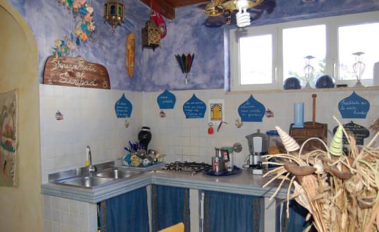 B&B fregene La Scialuppa cucina